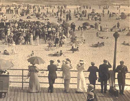 On the Beach 1910